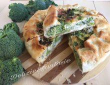 Tortino rustico con broccoli