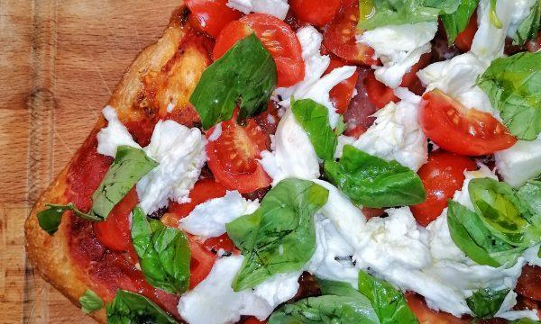Pizza in teglia con idratazione 80%