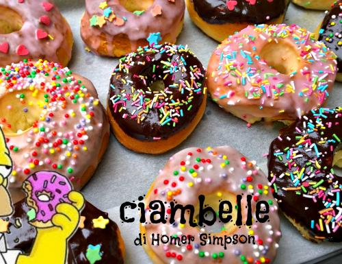 Ciambelle di Homer Simpson (Donuts al forno)