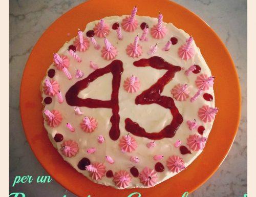 Cheesecake alla frutta per un compleanno estivo (a distanza)