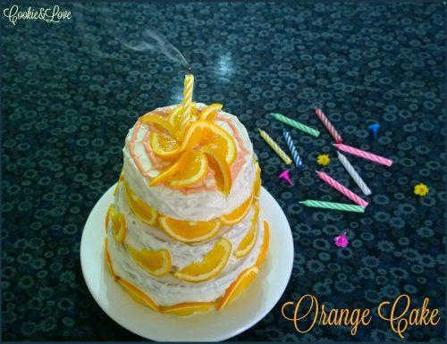 Orange Cake – torta farcita all'arancia e cioccolato bianco