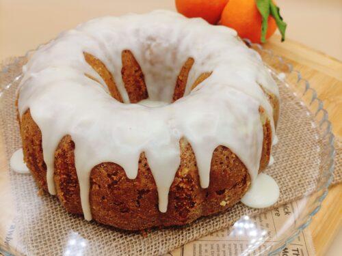 Torta glassata all'arancia (senza lattosio!)