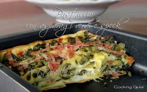 pasticcio asparagi verdi e speck