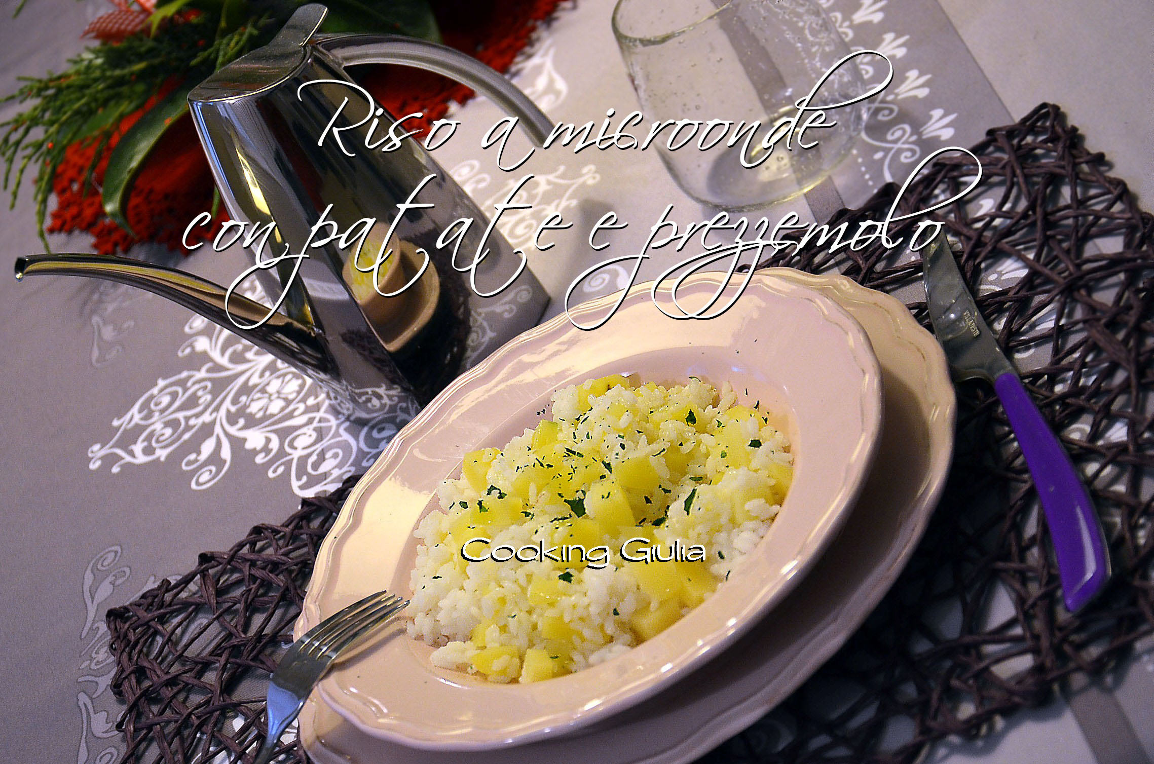 cooking giulia   risotto microonde