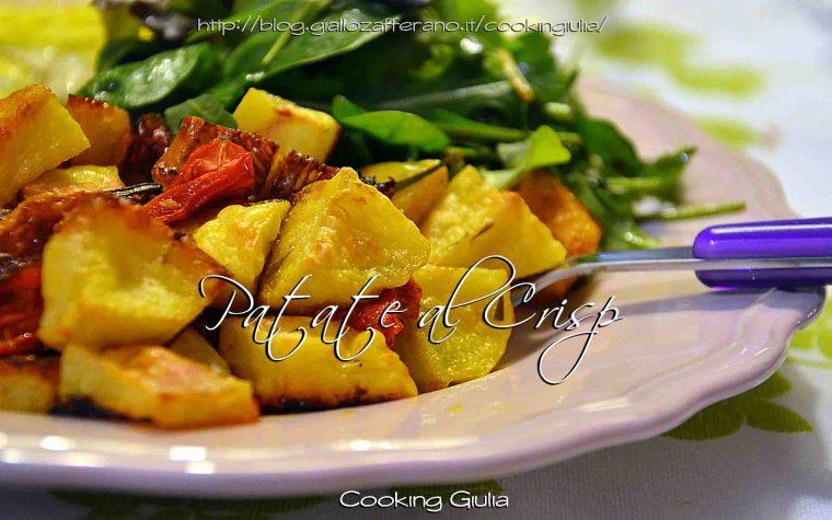 Patate al Crisp con Pomodori Datterini