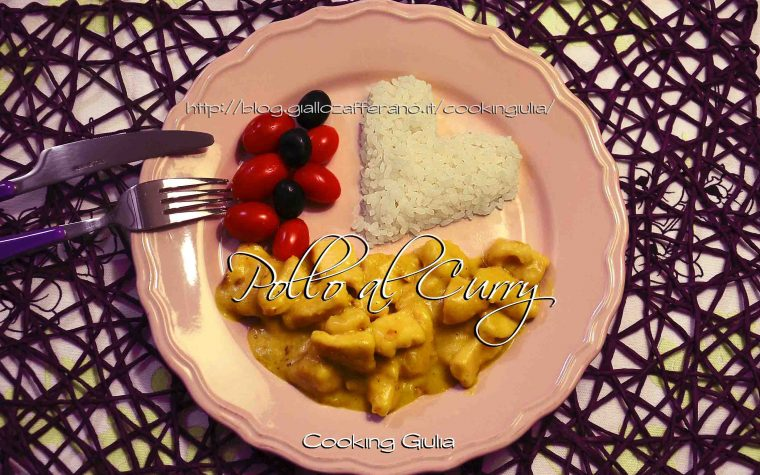 Pollo al Curry con latte di cocco, ricetta per la cena di San Valentino