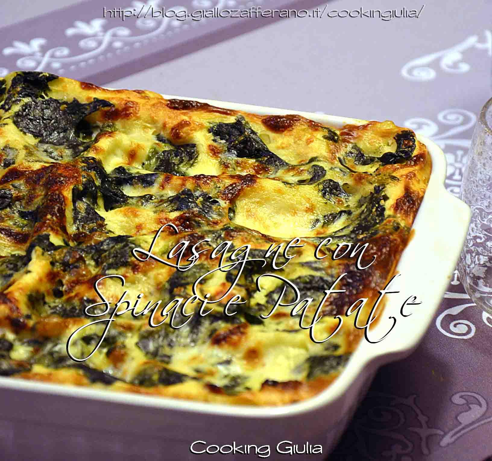 lasagna | lasagne | spinaci | lasagne con spinaci | pasticcio con spinaci