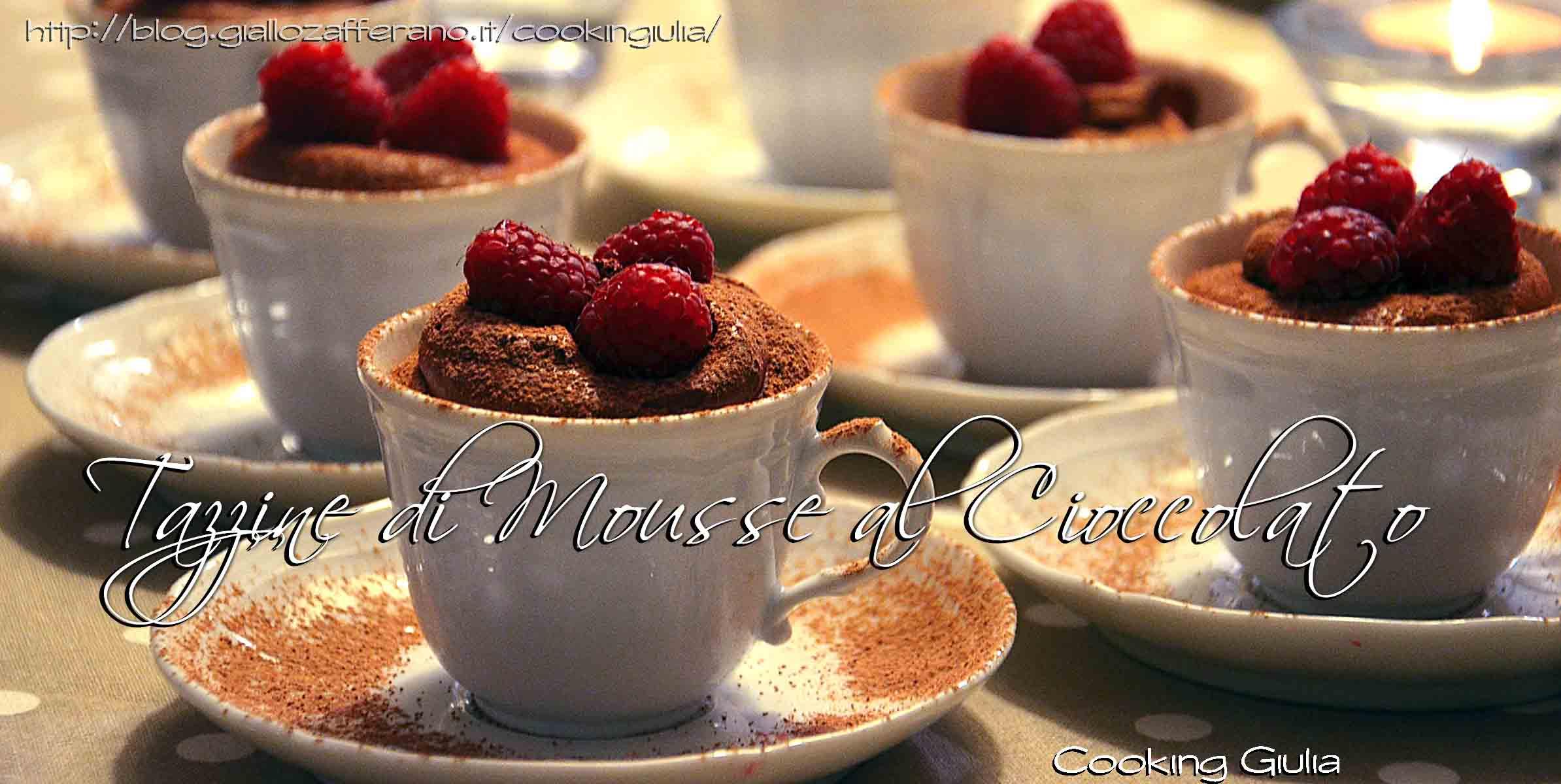 mousse al cioccolato | lamponi | cioccolato e lamponi