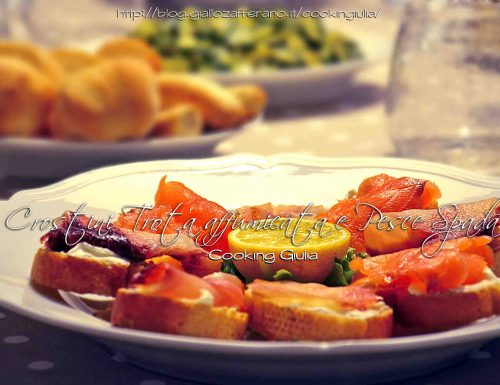 Crostini di pesce