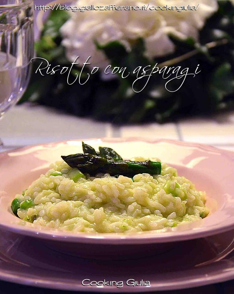 risotto | asparagi | cooking giulia | villa d'este