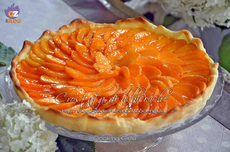 albicocche | crema pasticcera | pasta frolla | cooking giulia | crostata albicocche | crostata crema pasticcera