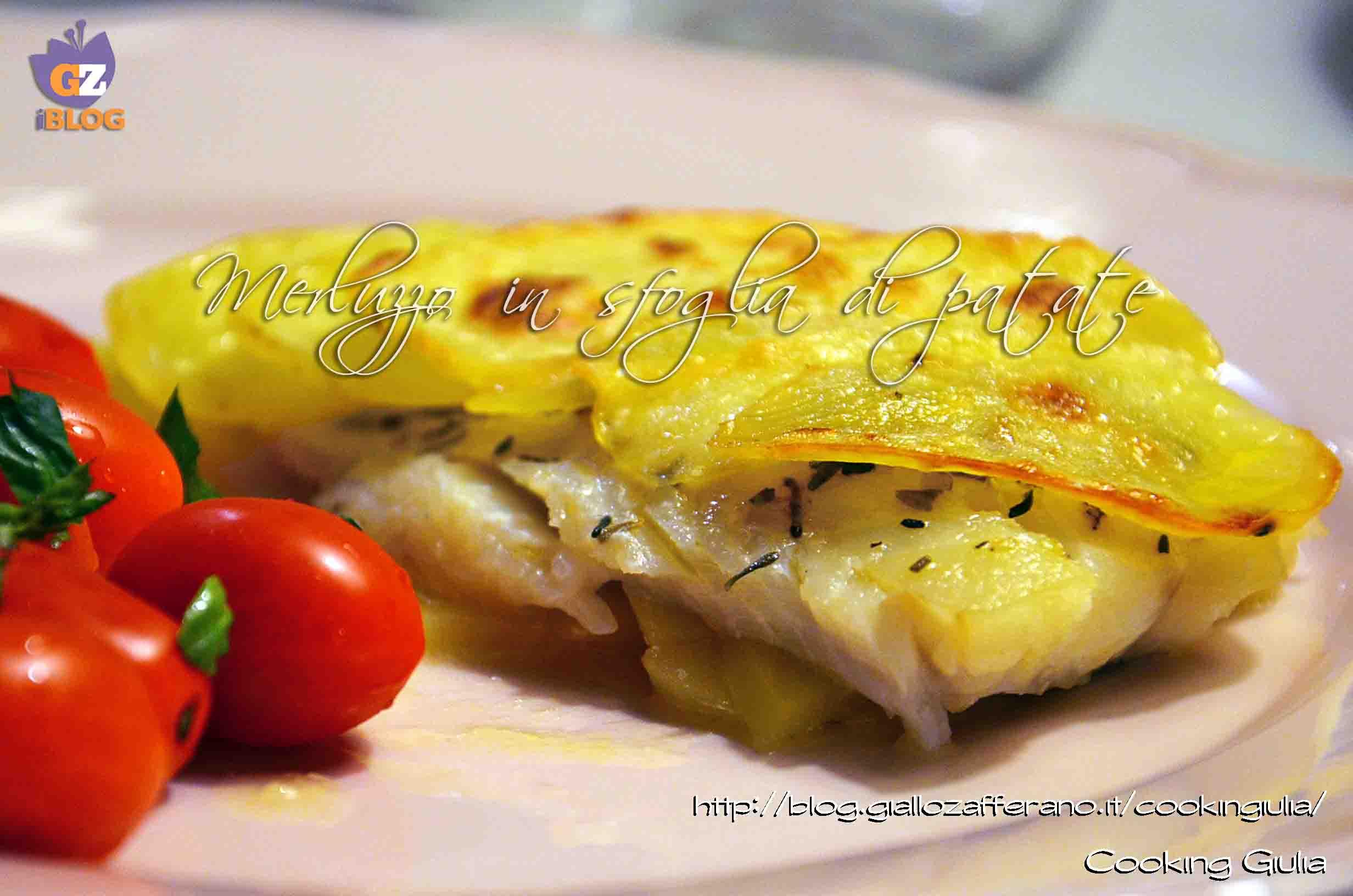 filetto di merluzzo in sfoglia di patate | ricetta secondo | pesce - Cucinare Filetto Di Merluzzo