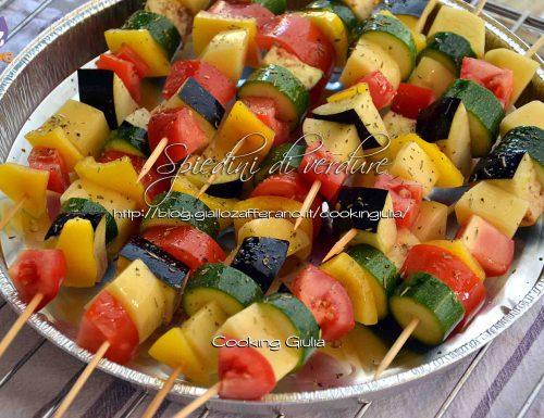 Spiedini di verdura