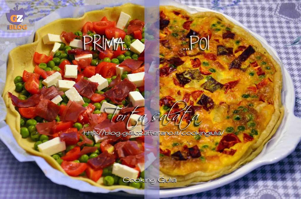torta salata bresaola | piselli | magrello | pomodorini | antipasto | torta salata | pasta sfoglia