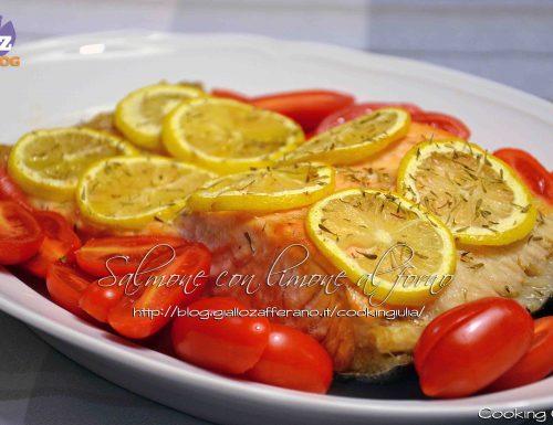 Salmone con limone al crisp