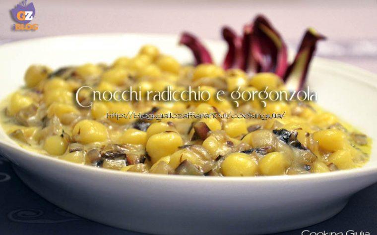 Gnocchi radicchio e gorgonzola