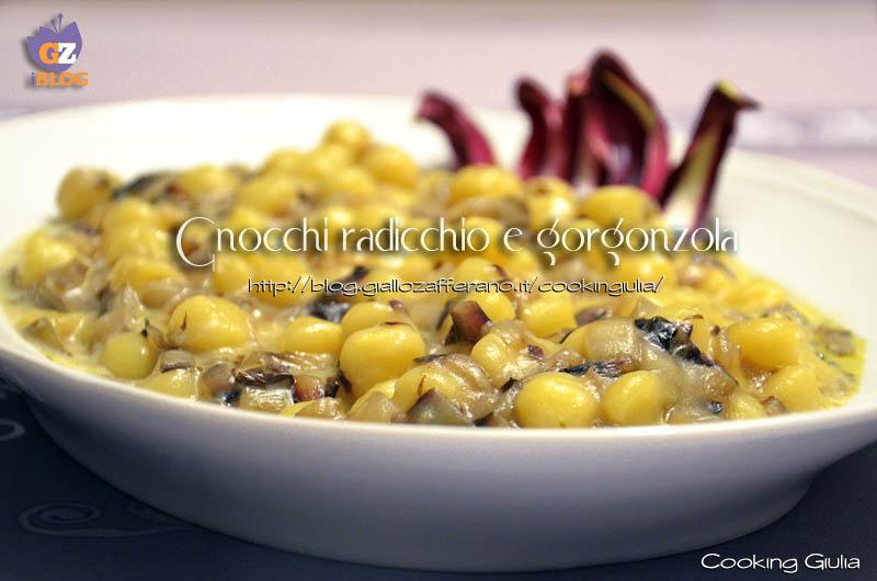 Gnocchi radicchio e gorgonzola | gnocchi | radicchio | gorgonzola | chicche di patate | radicchio treviso