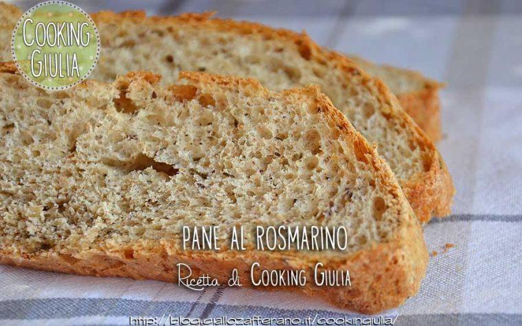 Pane al rosmarino con farina ai 5 cereali