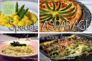 Raccolta di ricette a base di asparagi