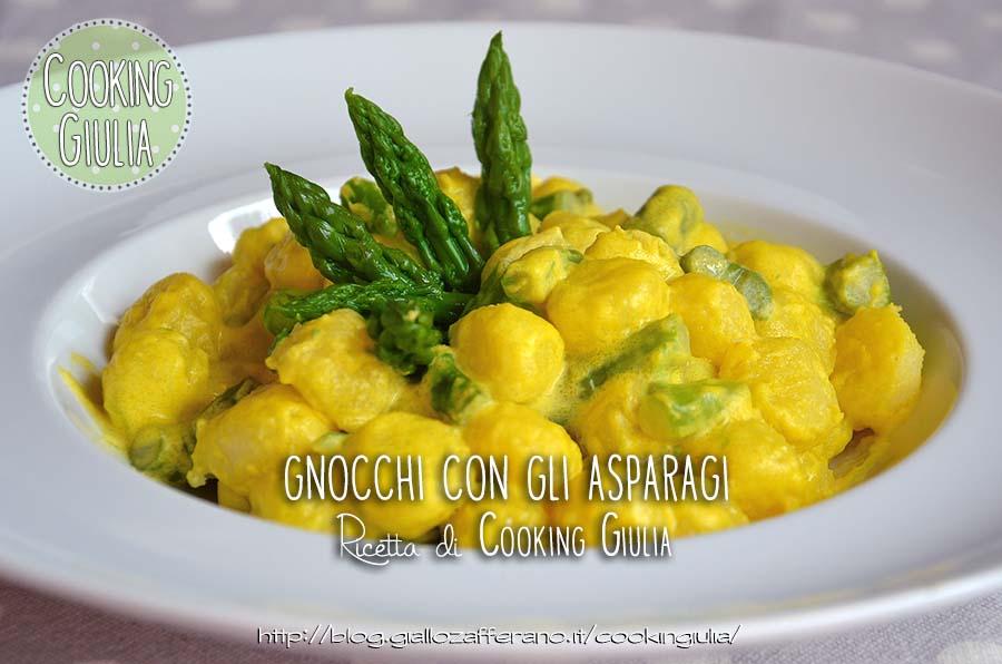 gnocchi con asparagi   gnocchi   asparagi   primi asparagi   ricetta con asparagi   primi piatti con asparagi