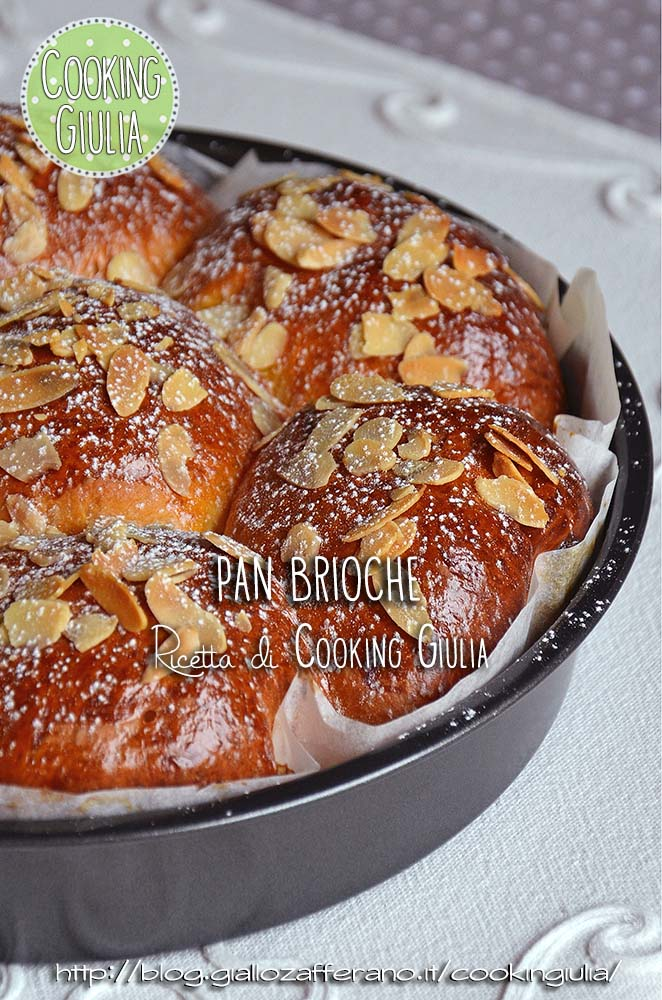 pan brioche | mandorle | kenwood cooking chef | impastatrice | brioche | danubio