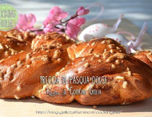 Treccia di Pasqua dolce