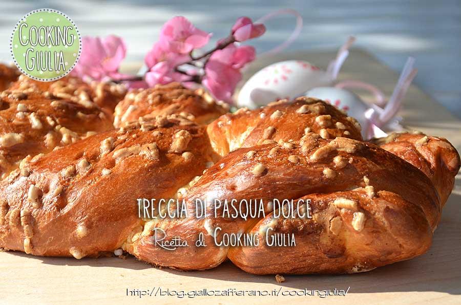 treccia di pasqua | ricetta dlce | treccia dolce | lievitato dolce | pasqua | pasquetta
