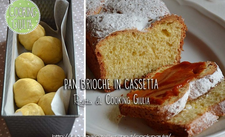 Pan brioche in cassetta