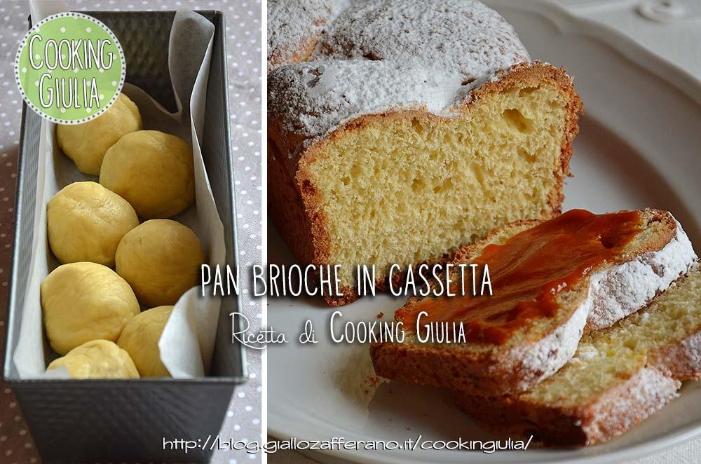panbrioche in cassetta | colazione | dolce | cooking giulia | lievitato | lievito | panbrioche