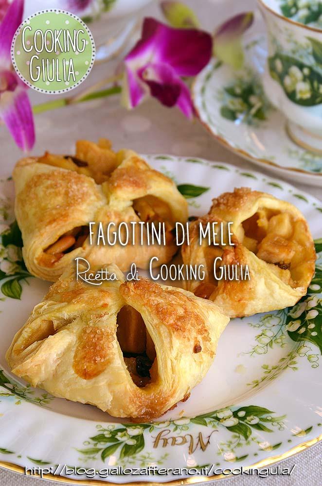 fagottini   mele   pasta sfoglia   puff pastry