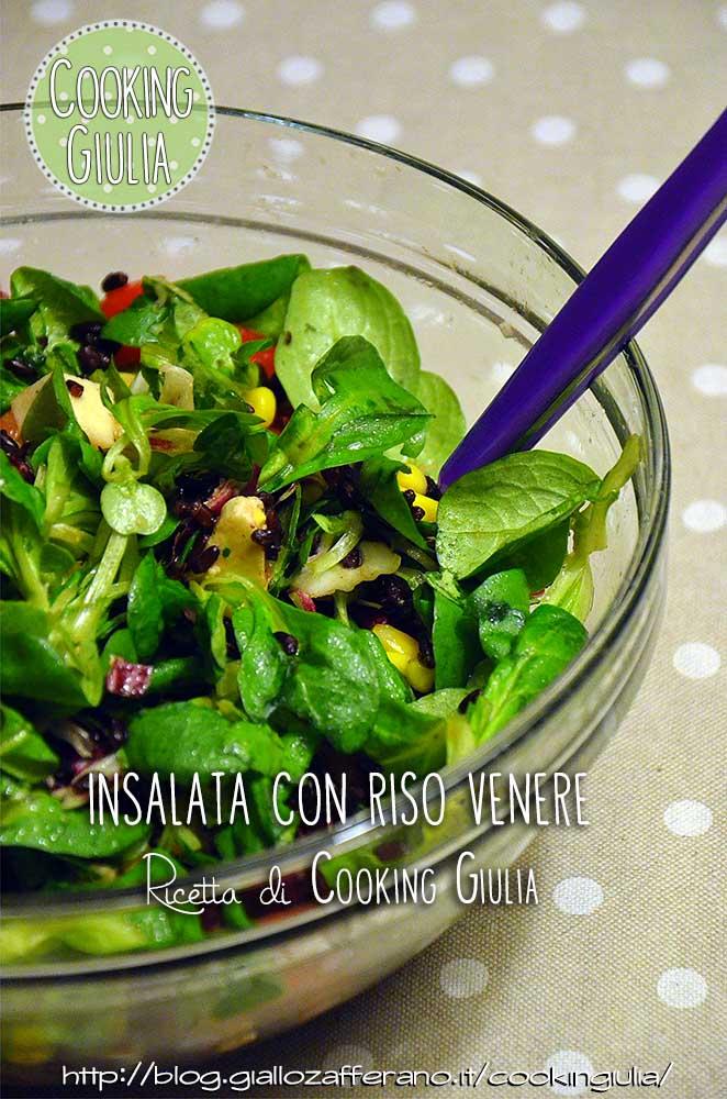 insalata | insalata con riso | riso | riso venere | aceto balsamico