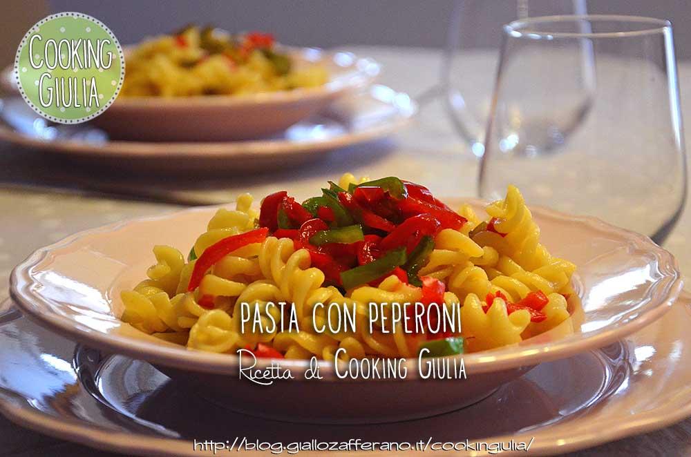 peperoni | pasta | ricetta | pasta peperoni | pasta estiva