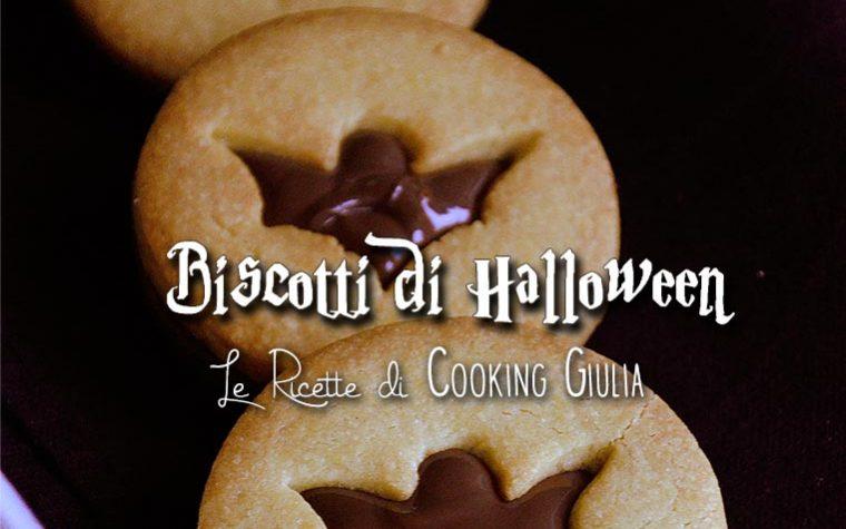 Biscotti farciti di Halloween