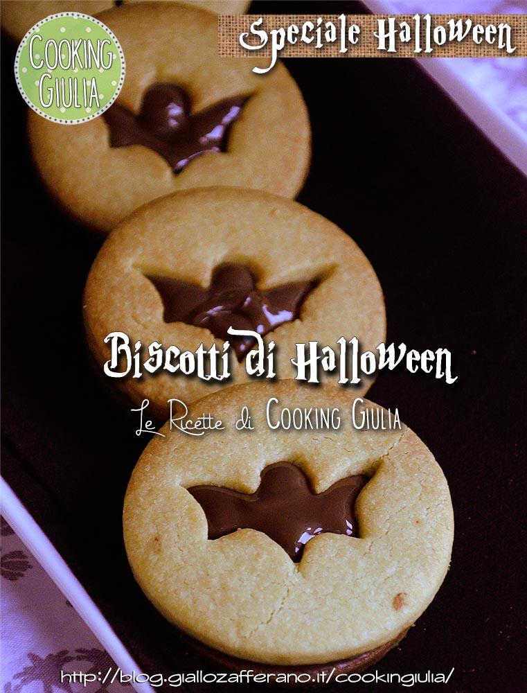 Biscotti farciti   biscotti di halloween   cooking giulia   nocciolata   nutella   halloween   halloween14