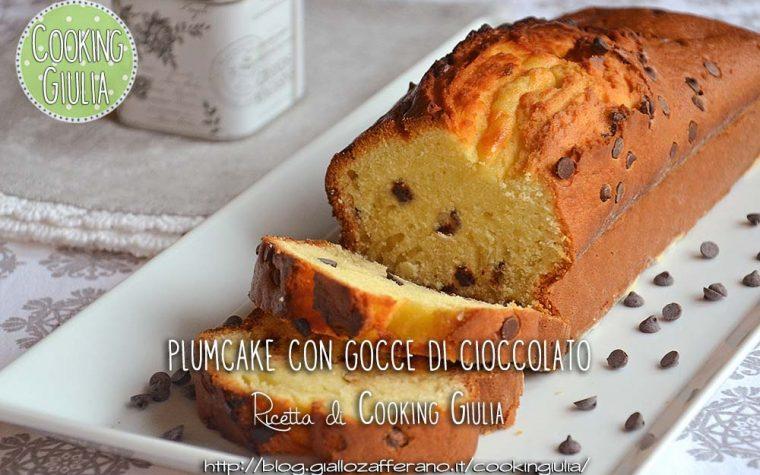 Plumcake gocce di cioccolato