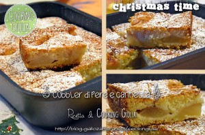 cobbler | pere | cannella | cooking giulia