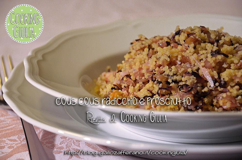 couscous radicchio | prosciutto | couscous ! richard ginori | radicchio | antico doccia