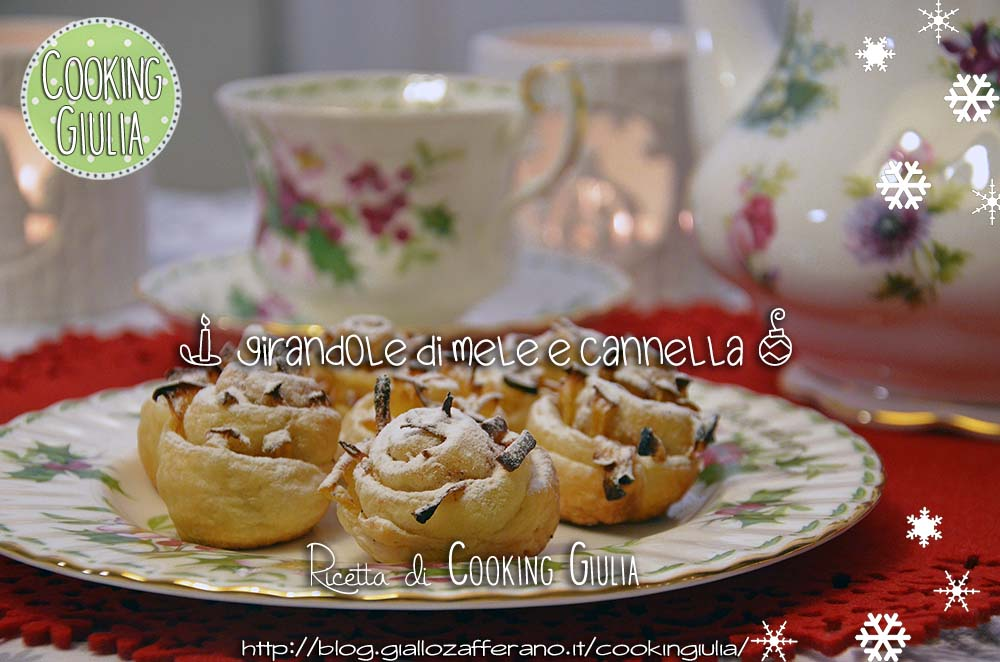 girelle   mela   cannella   pasta sfoglia   natale   christmas