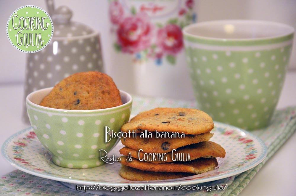 biscotti alla banana | Biscotti alla banana | biscotti | banana | greengate | ricetta | biscottini