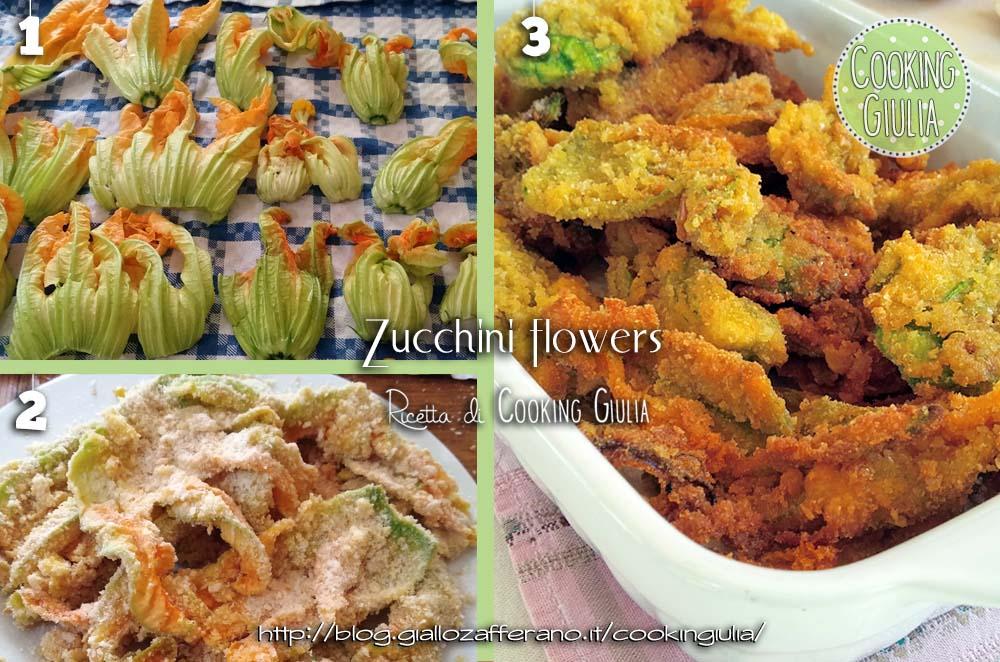 Fiori di zucca impanati, fiori, fiori di zucchina, zucchina