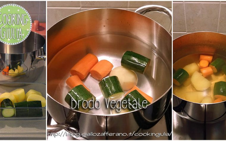 Primo brodo vegetale, svezzamento