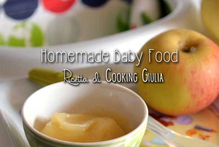 Omogeneizzato mela homemade