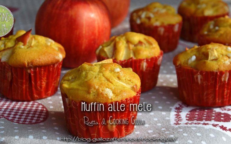 Muffin alle mele con panna montata