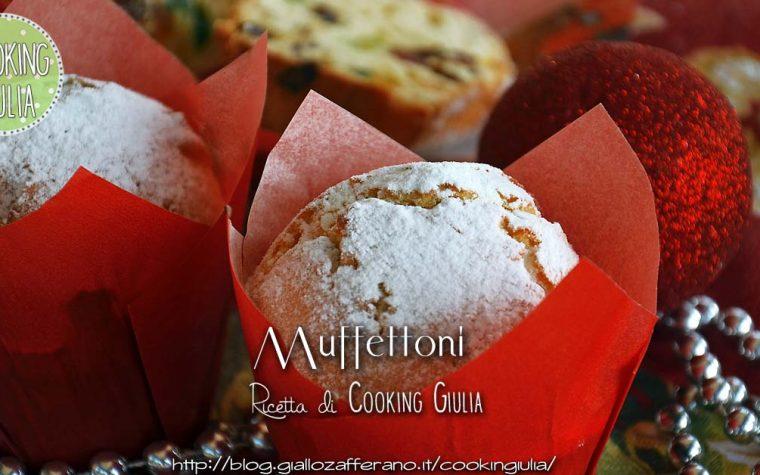 Muffettoni: i muffin che si credono panettoni