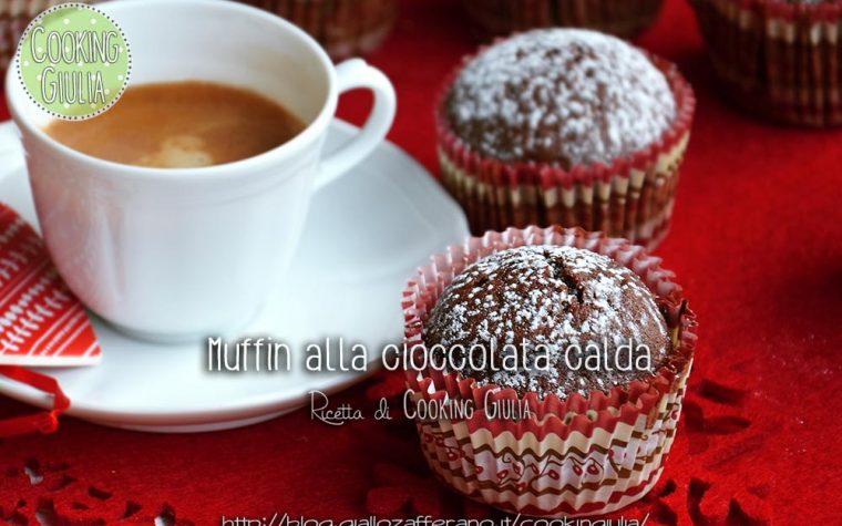 Muffin alla cioccolata calda