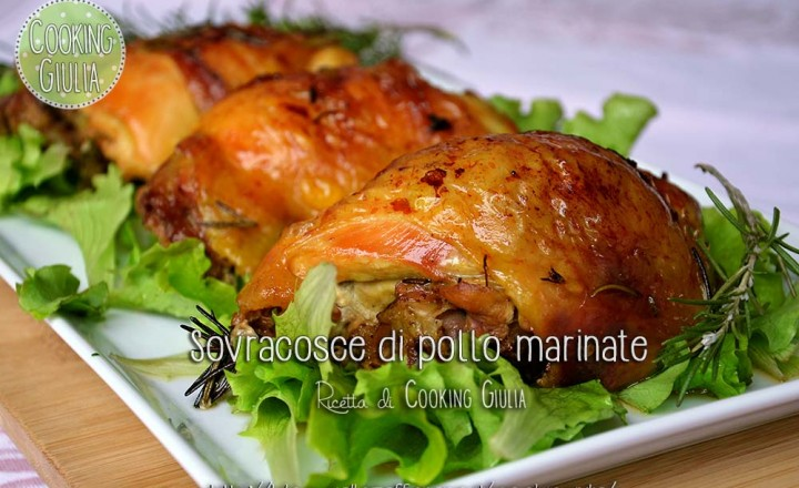 Sovracosce di pollo marinate