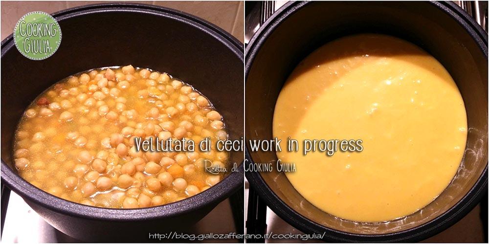 vellutata ceci work n progress