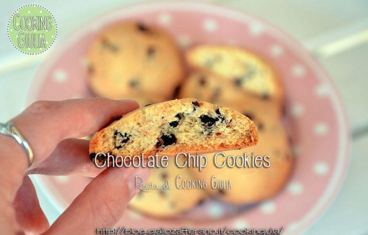Biscotti con gocce di cioccolato – Chip Chocolate Cookies