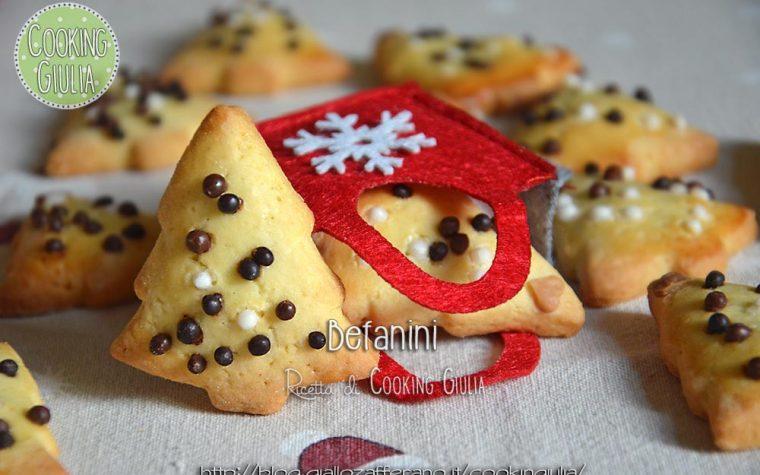 Befanini, biscottini della Befana