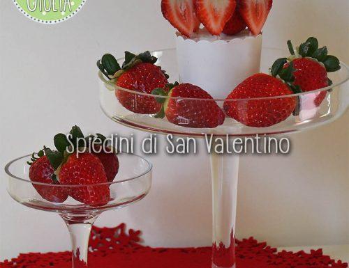 Spiedini di San Valentino alla frutta